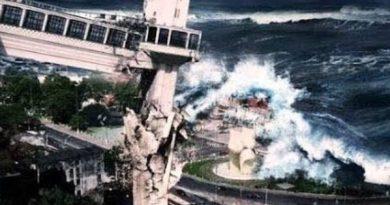 Vídeo: Homem diz que um tsunami irá destruir a Bahia no final do ano