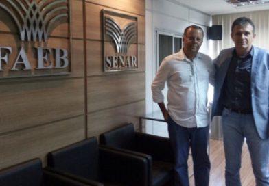 Presidente do Sistema FAEB se reúne com prefeito de Ipirá