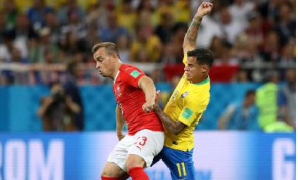 Brasil larga na frente, mas sofre com erros da arbitragem e empata com a Suíça