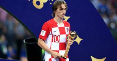 Eleito o melhor jogador da Copa 2018, Modric pode ser condenado a cinco anos de prisão
