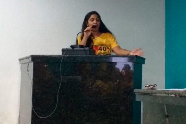 Loiane Fernandes, diretora da APLB