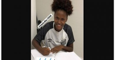 Natural de Ipirá, Maria Dias é anunciada como jogadora do Santos