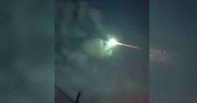 Bola de fogo cruza o céu e transforma noite em dia na Venezuela