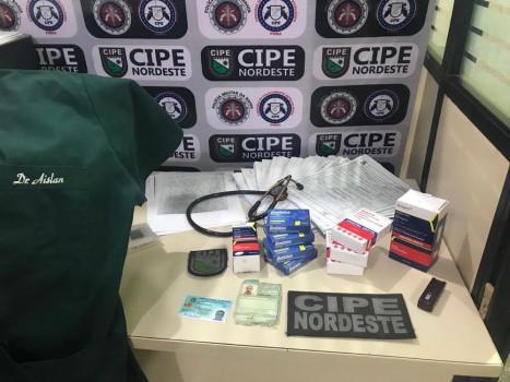 Suspeito usava documentos de um médico para atender pacientes no Hospital Municipal de Nova Soure.